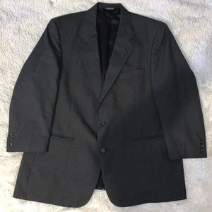 VTG Burberry Dark Gray 46R